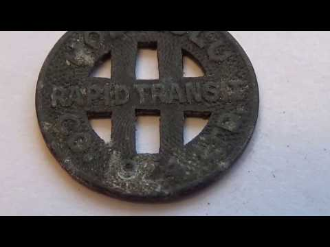 A 1924 Honolulu Transit Coin