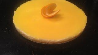 Gâteau Facile à L'orange Et à La Crème Patissière