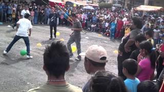 Feria del Cocol, Los Reyes Acozac (concurso de pelea de gallos)
