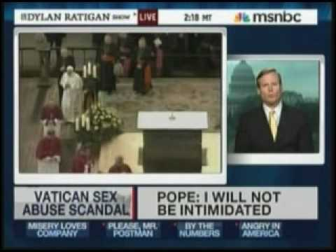 pope involvement in sex scandal