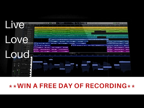 **WIN A FREE DAY OF RECORDING**