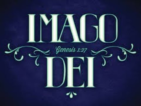 "Holy Spirit Put ""Imago Dei"" on My Heart this Morning."