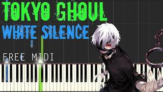 Tokyo Ghoul - White Silence | Synthesia Tutorial w/MIDI