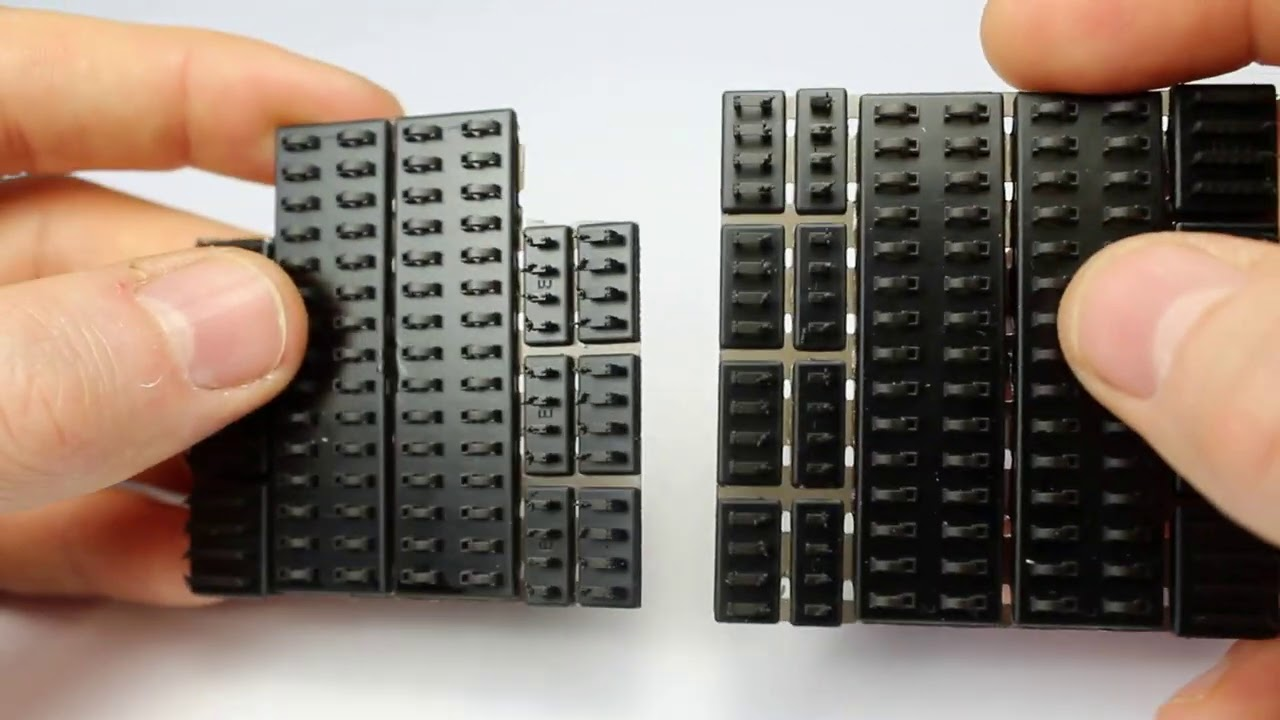 3D Printed Parts for Armour Modelling