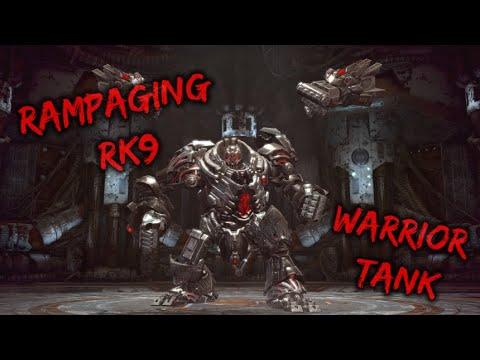 [ TERASEA ] Rampaging RK9 Last Boss  Warrior Tank POV 15.4M