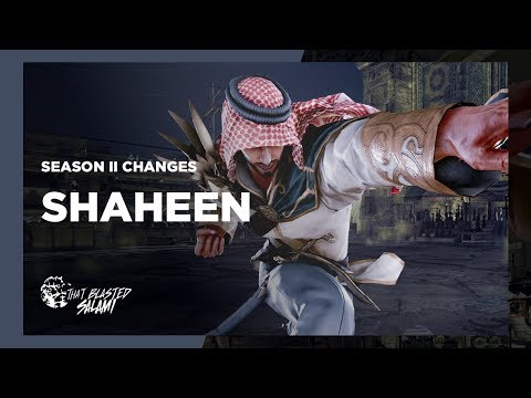 Tekken 7 - Shaheen Season 2 Changes