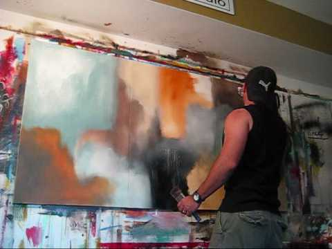 """Fade Away"" By abstract Artist Gino Savarino. Original Modern Art - www.verybigart.com Fine Art"