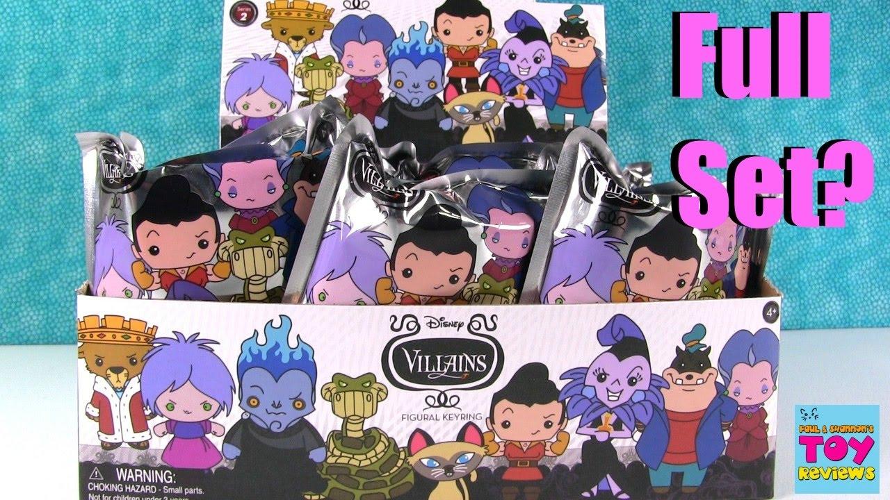 Disney Villains Series 2 Figural Keyring Blind Bag Opening