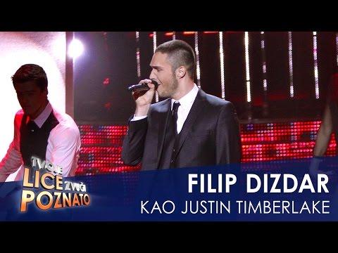 Filip Dizdar kao Justin Timberlake: Sexy back