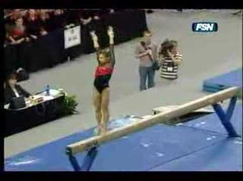 Georgia Gymnastics - Courtney Kupets - Beam - 3/31/07