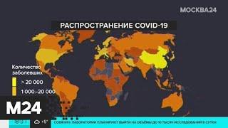 Число инфицированных COVID-19 в Москве достигло 131 - Москва 24
