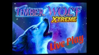 ★NEW TIMBER WOLF !☆TIMBER WOLF XTREME Slot (Aristocrat + VGM) $3.00 Bet Live Play☆彡