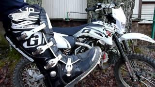 Экипировка на питбайк. Мой выбор начинающего мотоциклиста. Gaerne sg10, Airoh s4, Thor force(, 2013-11-12T13:45:03.000Z)