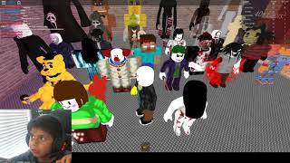 Roblox - Scary Elevator - Ohhhh, it's to scary {removes Headphones}