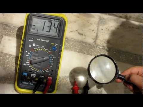 How to make Homemade DIY Low cost solar panel - Using a silicon diode as a solar cell