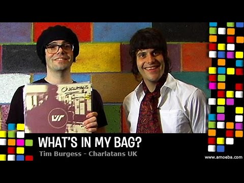 Tim Burgess (Charlatans UK) - What's In My Bag?