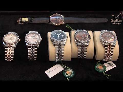 Bộ Sưu Tập đồng Hồ Rolex Chính Hãng Tại Gia Bảo Luxury