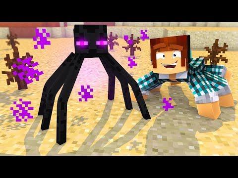 O ENDERMAN VIROU UMA ARANHA !! - [ Vida de Aranha #8 ] - Minecraft