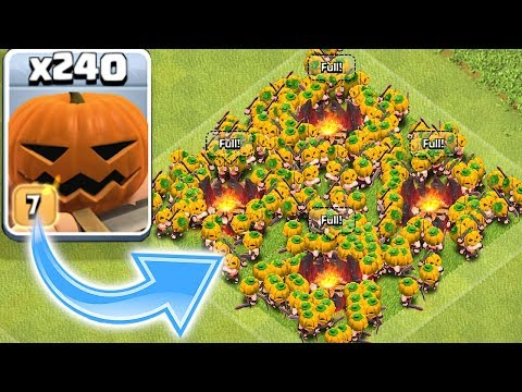 NEW PUMPKIN TROOP!! | Clash of clans | HALLOWEEN TROLL ATTACK!!