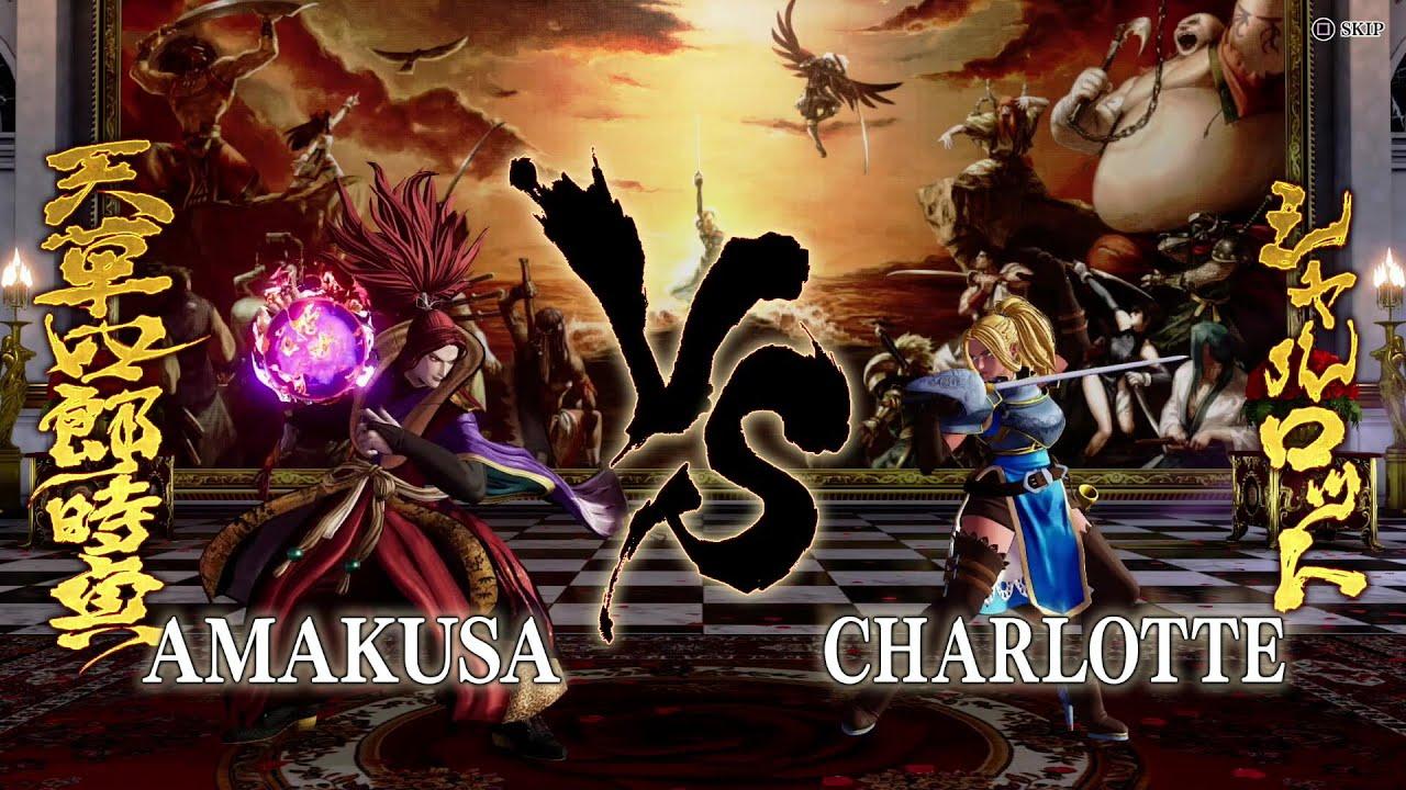 SHIRO TOKISADA AMAKUSA|Gameplay #1 【AMAKUSA vs. CHARLOTTE】
