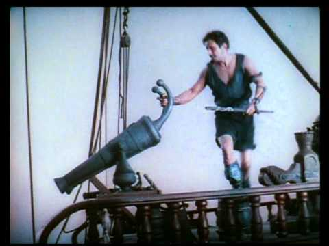 Douglas Fairbanks captures a ship single-handedly!.mpg