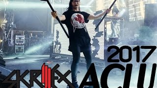 [Skrillex INTRO] Skrillex WELCOME ACLU 2017 (VISUALS) Remake Leandro