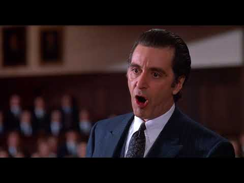 Discursul Lui Al Pacino Din Parfum De Femeie1992 Youtube