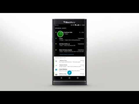 PRIV by BlackBerry - BlackBerry Hub: Official How To Demo