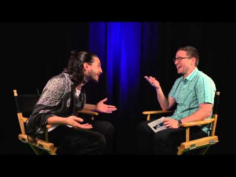 Ezra Miller talks Grant Gustin and The Flash (Tv Show)