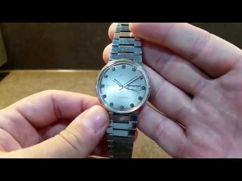 cec040bf6aa 1993 Mido Ocean Star Datoday Commander vintage watch - YouTube
