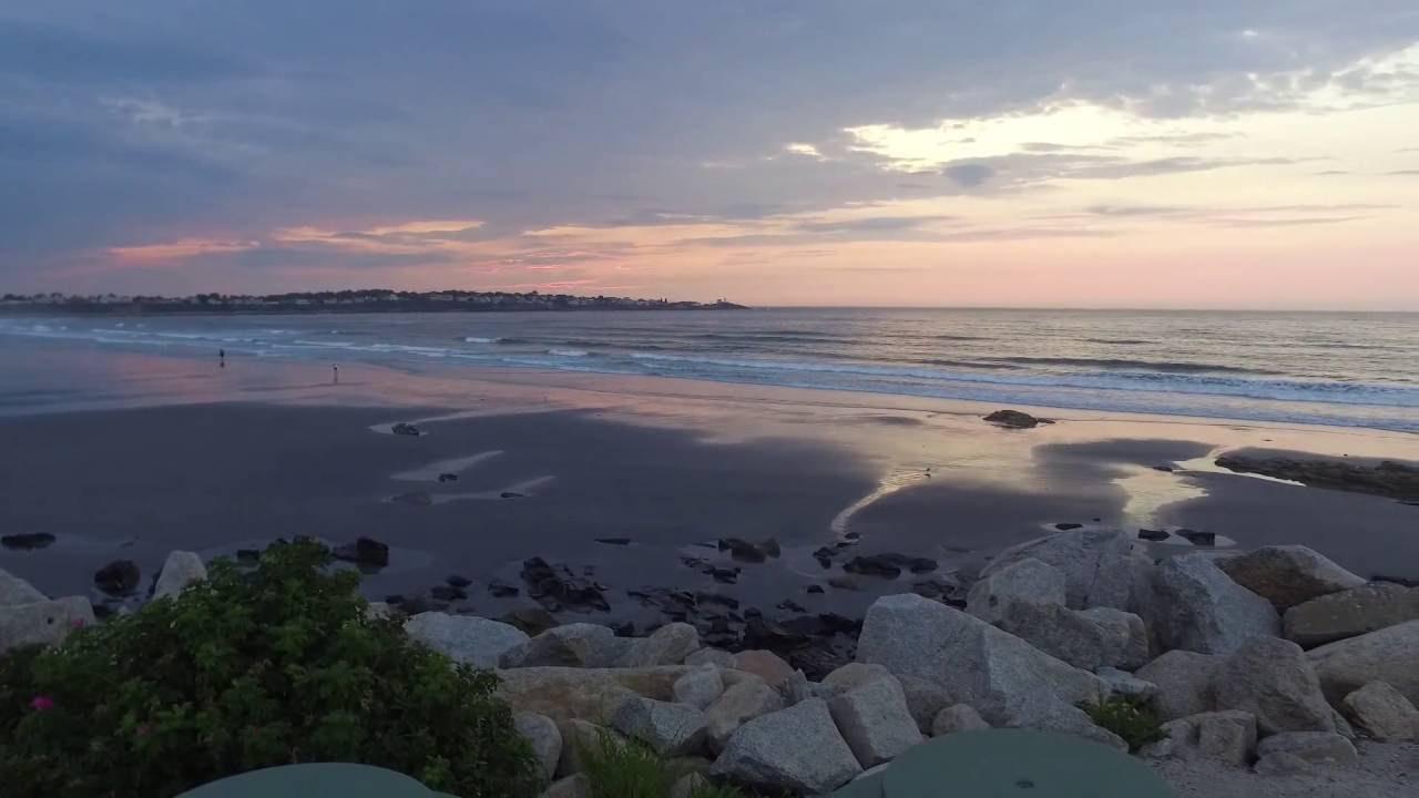 York Beach Maine Long Sands With