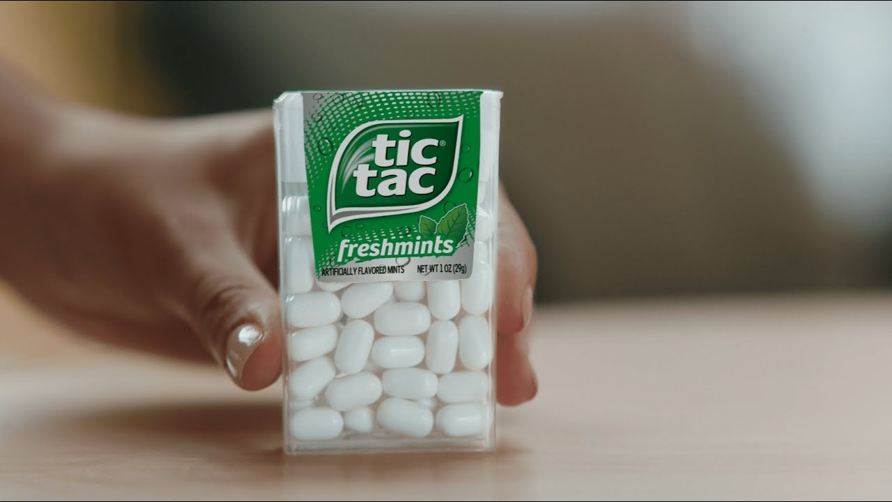 Tic Tac   Refreshing Moments   Pack Spill