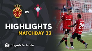 Highlights RCD Mallorca vs RC Celta (5-1)