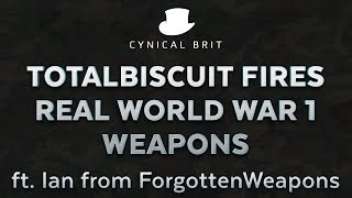 Gambar cover TotalBiscuit fires real WW1 weapons ft. Ian from ForgottenWeapons