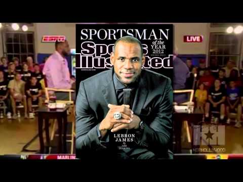 LeBron James named Sportsman of the year