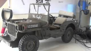 1/6 Hasbro Jeep War Eagle RC Build