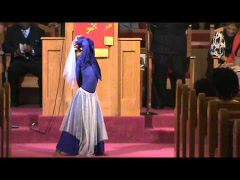"""RBC Ministry of Movement- Danyelle ministering her first solo to """"Clean This House"""" by Isaac Caree"""