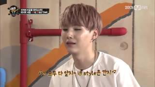 150629 BTS YamanTV ep24:JUNGKOOK VS SUGA imitate other KPOP idol cut