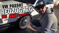 NEUZUGANG / LOW BUDGET PROJEKT / VW PASSAT 35i G60