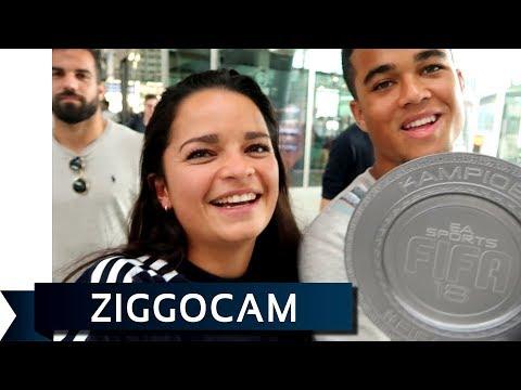 ZiggoCam - Justin Kluivert: 'Praatjes vullen gaatjes'