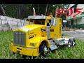 Cabina para camión a escala kenworth t800  (parte 5)