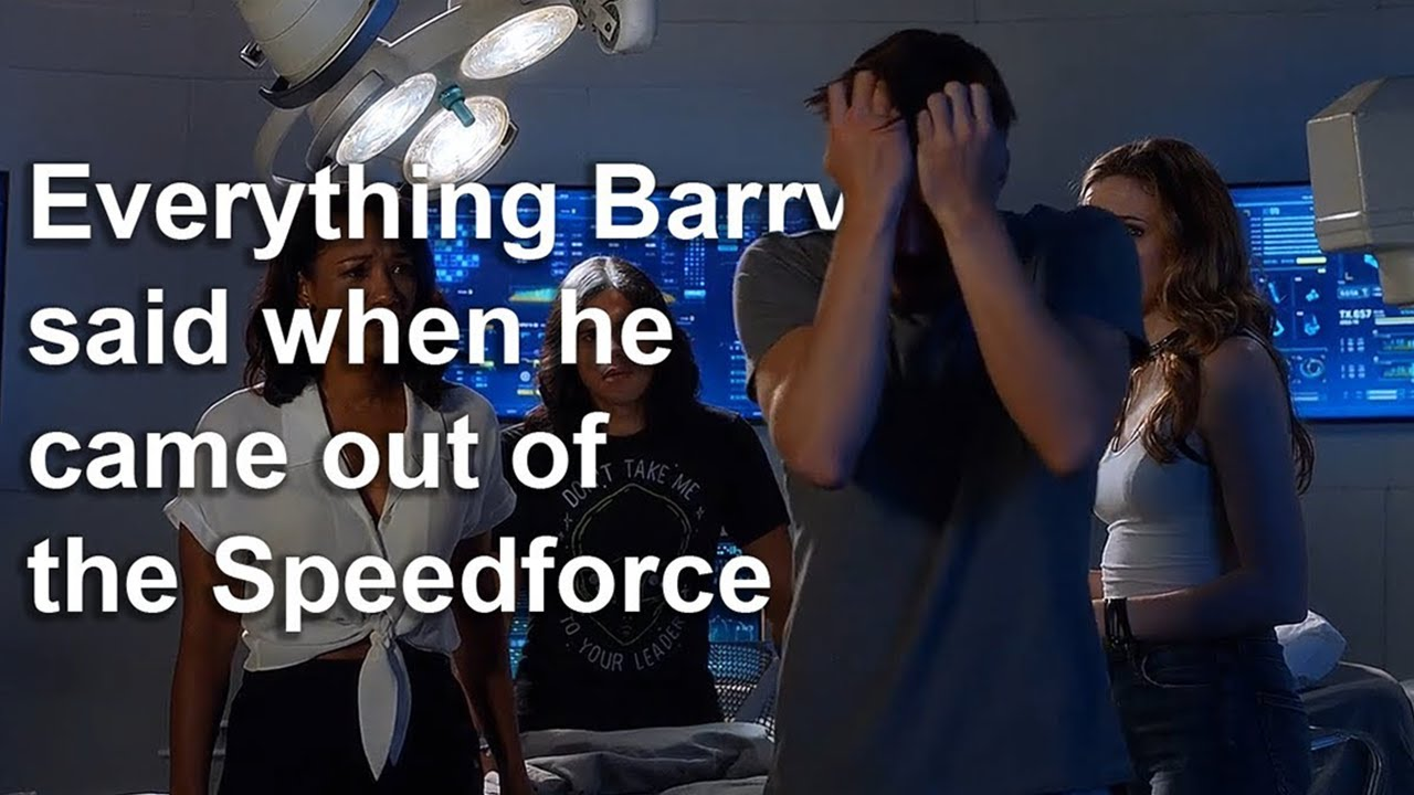 Download Everything Barry said in 4x01 with scenes from season 1 to 5