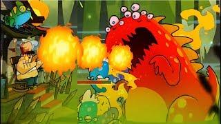 БОЛОТНАЯ Атака 48 БОСС БИТВА с БОССАМИ Мультик Игра для детей Sw Attack Мобильные игры