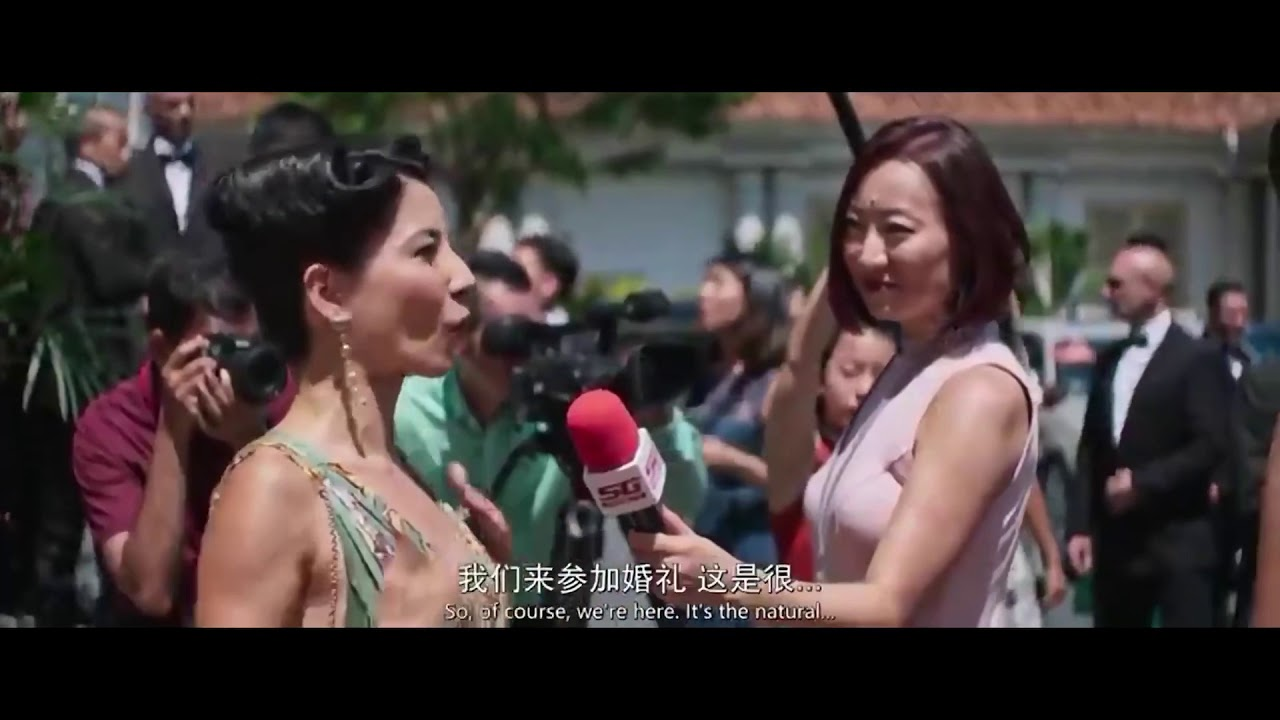 Download Crazy Rich Asians  (2018) - Rachel Chu getting ready for the wedding