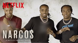 Narcos: Mexico | Migos Ad-libs: The Showdown | Netflix