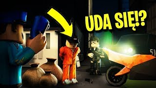 UCIEK-EM Z WI-ZIENIA!? - ROBLOX (Jail Break)