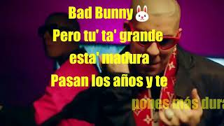 MADURA letra [Cosculluela ft. Bad Bunny]¨¨¨MusicUrban Letters