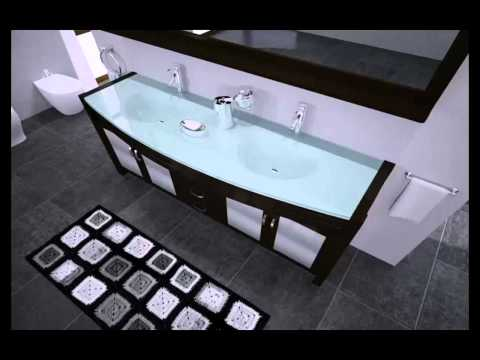 VIRTU USA UM-3073 AVA DOUBLE SINK VANITY SET - MODERN.mp4