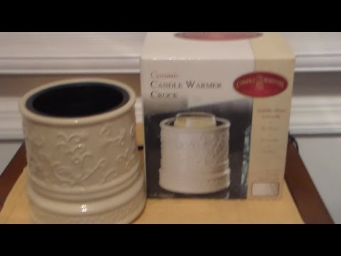 "Warming Jar Candles with ""Candle Warmer Crock"" & Chat 2014"