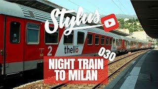 TAKING THE NIGHT TRAIN - DJ STYLUS VLOG - 030